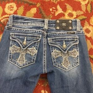 💕 Miss me jeans bootcut  sz 27 x 31 awesome 💕